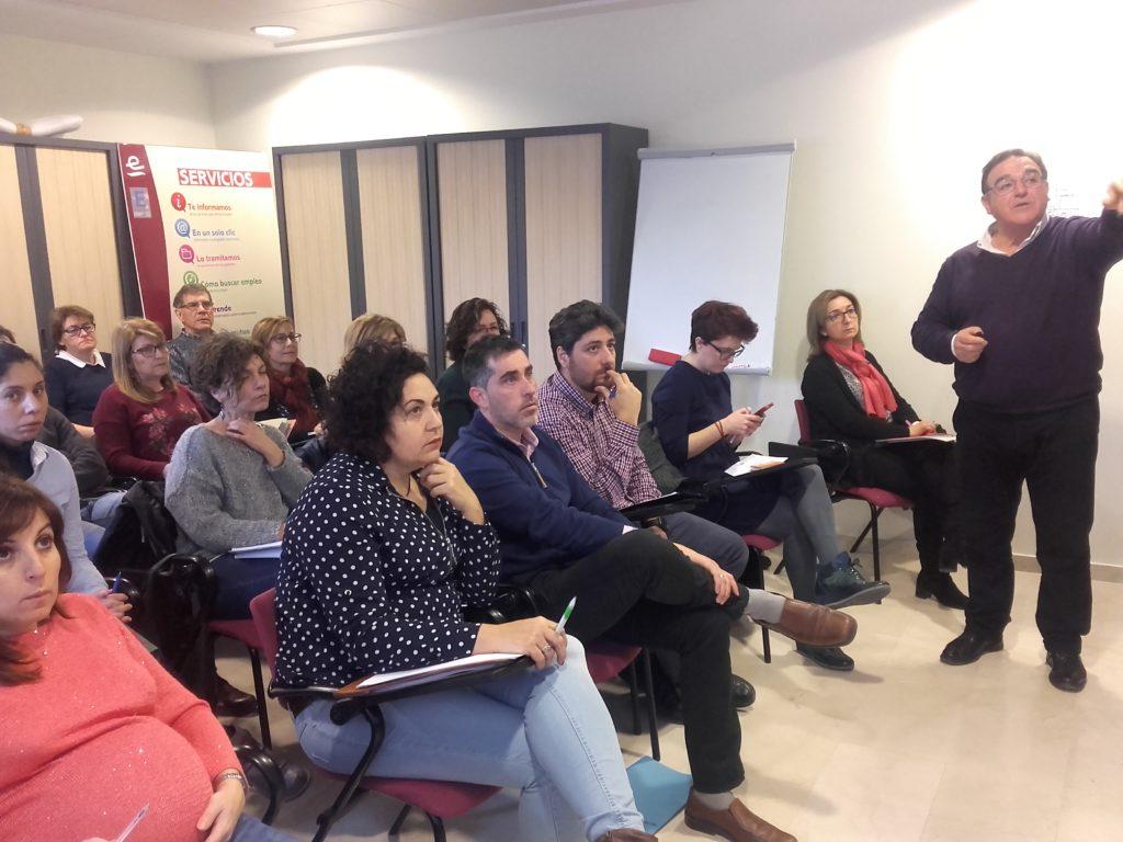 Reunión AEDLs INAEM provincia de Teruel