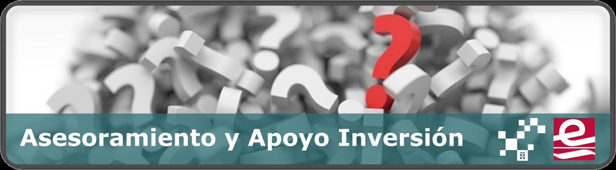 Asesoramiento y apoyo a la inversión