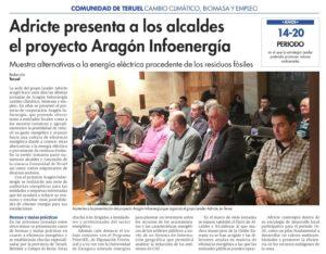 DDT 2018-01-17 Adricte presenta a los alcaldes el proyecto Aragón Infoenergía