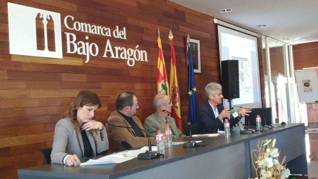 Coloquio 113 SOS Teruel en Alcañiz